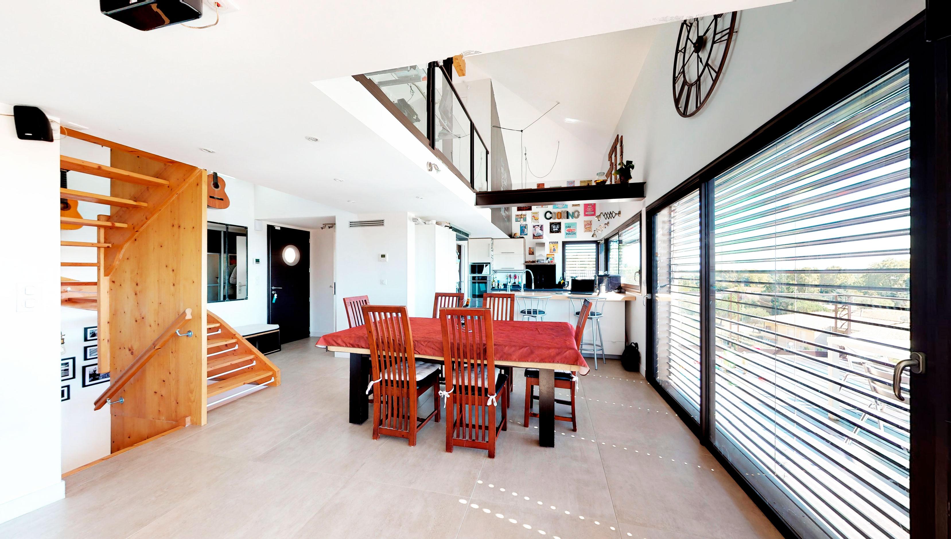 Villa architecte Toulouse Matterport