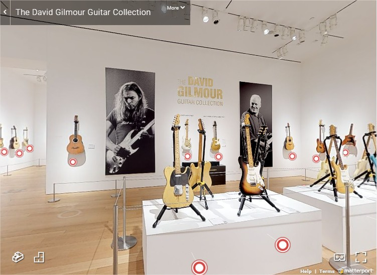 David Gilmour Guitar Collection